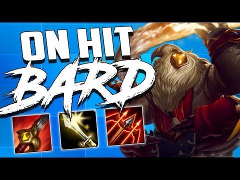 EPIC ON-HIT PROTOBELT BARD JUNGLE | LoL Bard Gameplay Lozo