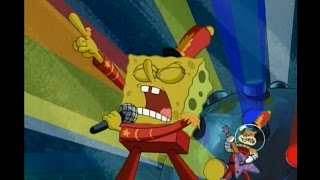 Spongebob Hooked On A Feeling