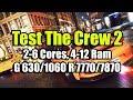 Тест The Crew 2 Beta на слабом ПК 2 6 Cores 4 12 Ram GeF 630 1060 Rad 7770 7870 mp3