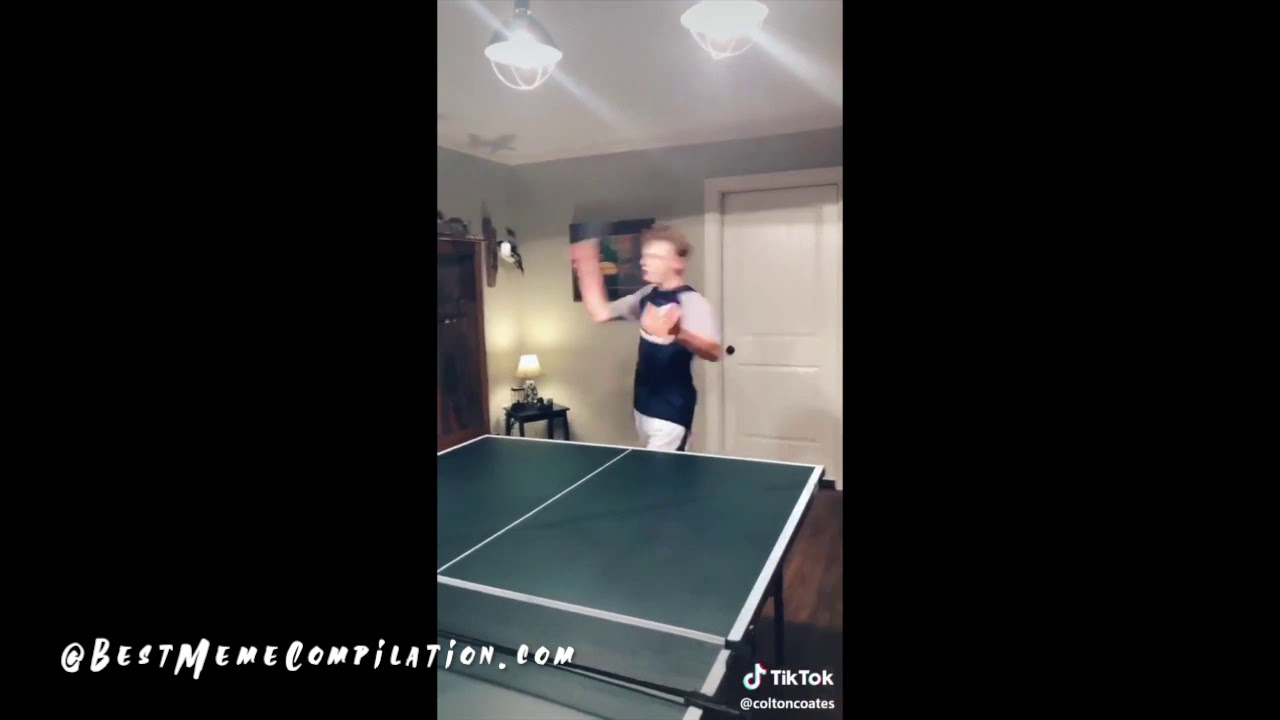 Drake and Josh ping pong meme