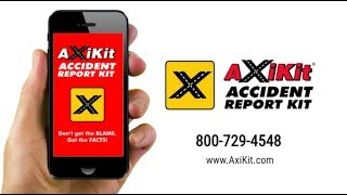 AxiKit® Fleet Accident Report App - Instant Stress-Free Accident Reporting