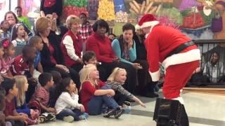 Soldier Santa Surprise