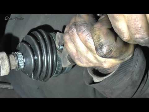 Замена наружной гранаты и внутреннего пыльника привода ВАЗ 2112