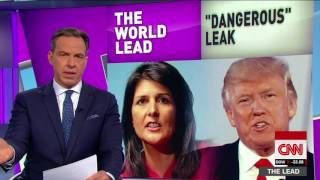 Jake Tapper: Trump's retweet 'playing with lives?' thumbnail