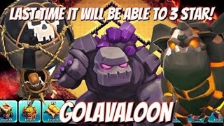 """Clash of Clans 3 Star GoLavaLoon Attack Strategy Gameplay 