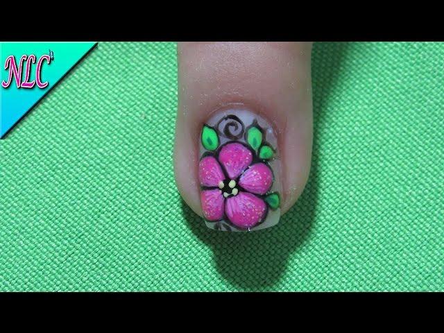 Magnífico Imagen Flores De Uñas Fácil Ideas Ornamento Elaboración ...