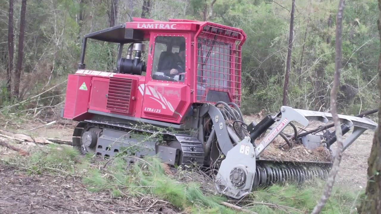 Denis Cimaf Forestry Mulcher Attachments: Skid Steer
