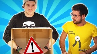 COSA C'É NELLA SCATOLA? - Whats in the Box CHALLENGE w/ IlluminatiCrew