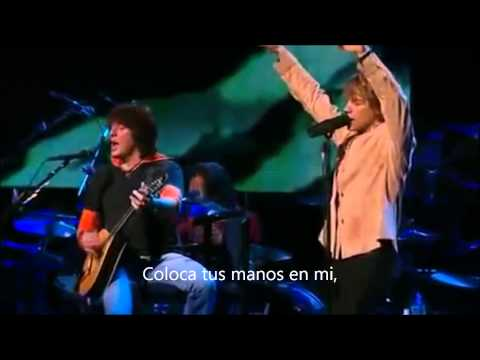 Bon Jovi- Lay Your Hands On Me- Live (Subtitulado)
