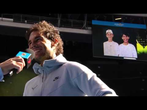 Rafa Nadal & Kevin Anderson: Then and now - Australian Open 2015