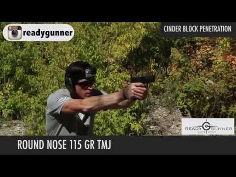 "Springfield Armory XDM 9mm 3.8"" home defense penetration tests"