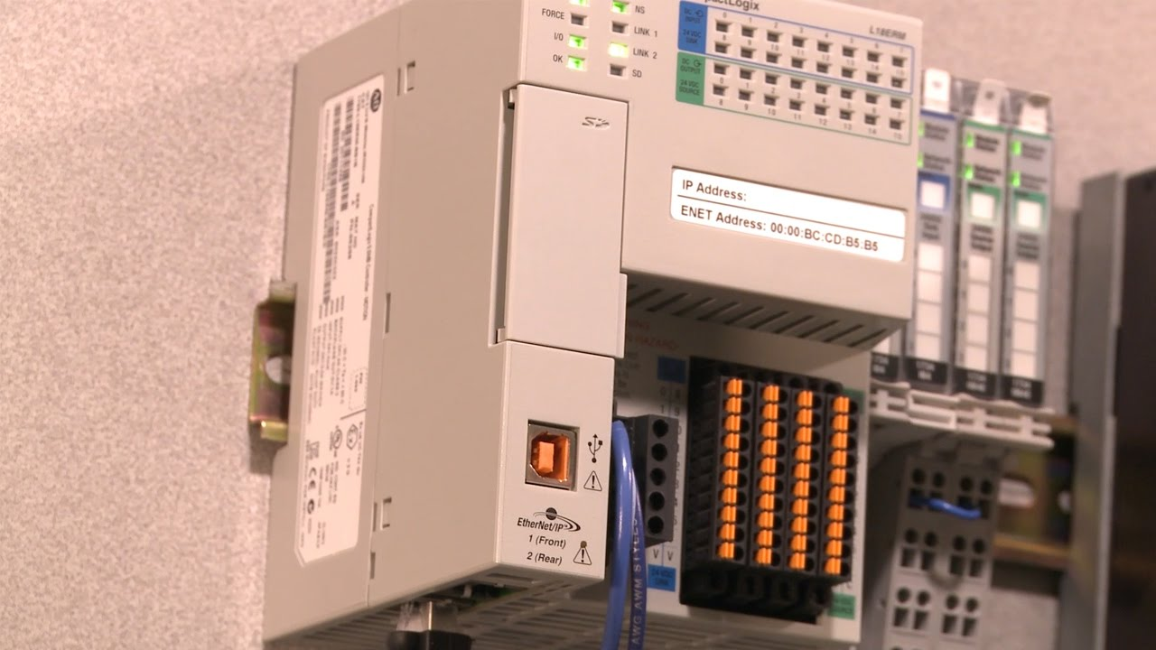Flashing the Firmware on a CompactLogix 1769-L18ERM Controller on