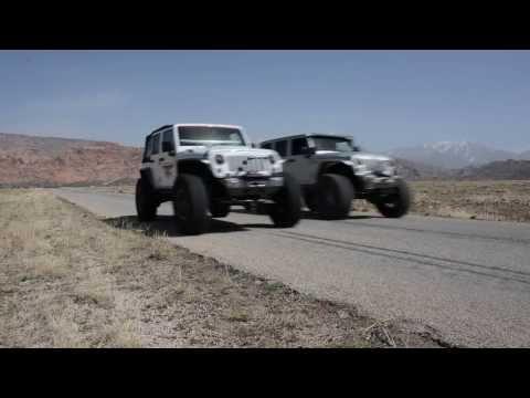 JEEP - Hemi JK Vs LS JK Drag Race - Dakota Customs And Bruiser Conversions
