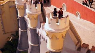 SINTRA: The Palácio Nacional da Pena - The Gingerbread Castle