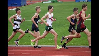 NZSS TF 2018 Junior Boys 3000m Heat 1