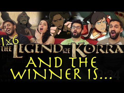 The Legend of Korra - 1x6 And The Winner Is... - Group Reaction