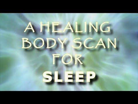 Healing Body scan Guided meditation for sleep and deep relaxation