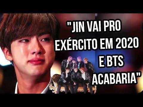 JIN NO EX脡RCITO EM 2020 E FIM DO BTS | Sofredora K-popper