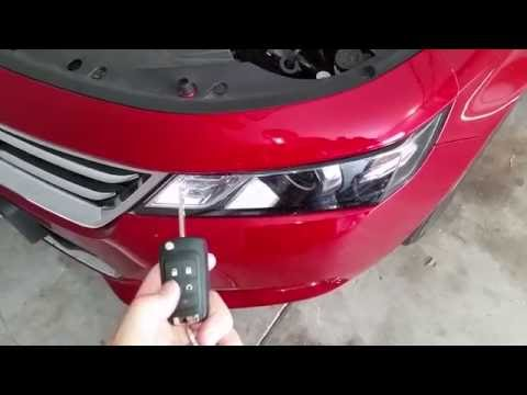 2014-2018 GM Chevrolet Impala - Testing Key Fob After Changing Dead Battery