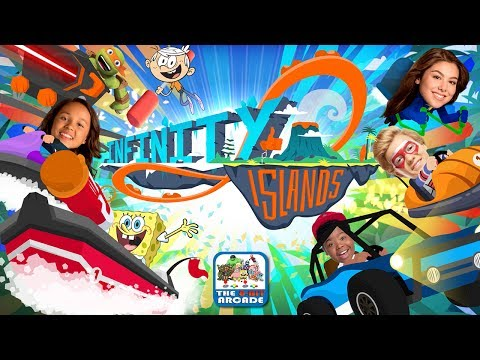 Nickelodeon: Infinity Islands - Beach Buggy Bash & Destruction Dodgems (Nickelodeon Games)
