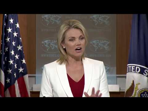 August U.S. Embassy Incidents in Havana Cuba w/ Heather Nauert