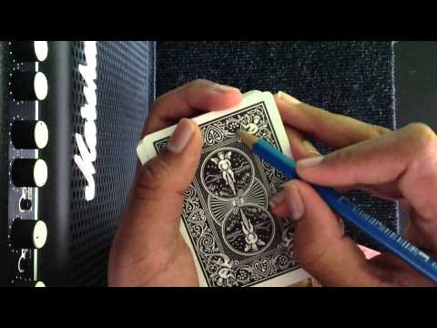 How To Mark Your Playing Cards