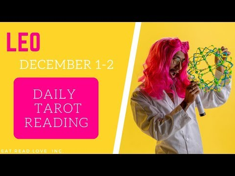 """LEO - """"STOP LYING TO ONE ANOTHER YOU BOTH WANT THIS"""" DECEMBER 1-2 DAILY TAROT READING"""