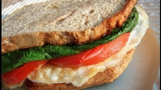 Primal Egg Cheese Breakfast Sandwich On Paleo Bread