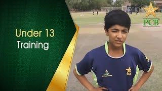 PCB Under 13 Training Program   Final Match   PCB