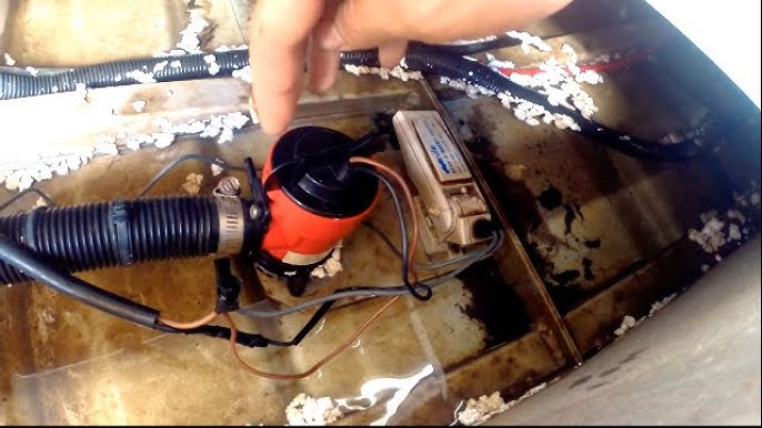 Positioning a bilge pump and float switch in a boat - YouTube | Bass Boat Bilge Pump Wiring Diagram |  | YouTube
