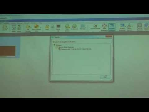 Clip 1: HP Classroom Manager Training Video: March 2014