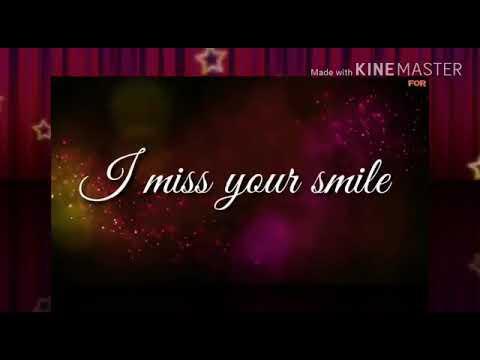 I Really Miss U Sona Youtube