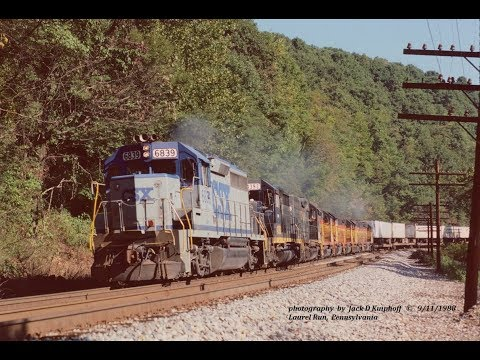 CSX, The Early Years. Never knew what you would see. Filmed September & October 1988