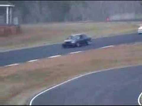 Mercedes W126 560sel Amg 6l 32v At Road Atlanta Pure Sound Youtube
