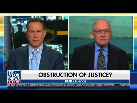 Liberal Legal Scholar Alan Dershowitz: There Is Absolutely No Case For Obstruction Of Justice