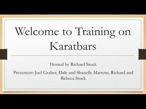 Training For Brand New KaratBars Affiliates