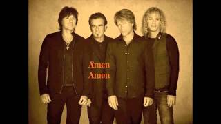 Amen - Bon Jovi (with Lyrics)