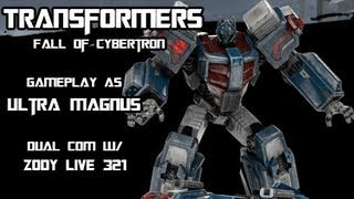 Transformers Fall of Cybertron - Ultra Magnus Multiplayer Gameplay w/ Zody Live 321