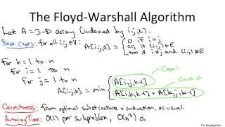 03 - The Floyd-Warshall Algorithm (13 min)