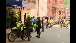 Gigantesco operativo en Bello para hallar a sicarios que balearon a dos hombres
