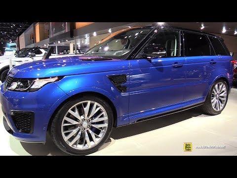 2018 Range Rover Sport SVR - Exterior and Interior Walkaround - 2017 Frankfurt Auto Show