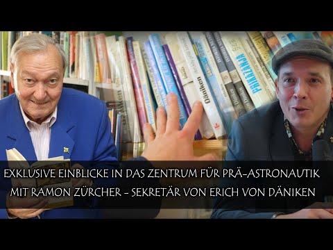 Exklusive Einblicke in das Zentrum für Prä-Astronautik (Ramon Zürcher - Sekretär Erich von Däniken)