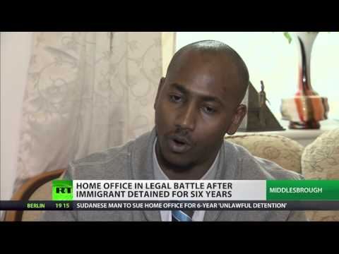 'Man detained for 6 years in UK immigration detention centers'