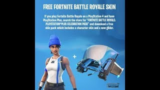 FORTNITE: How to have a PERSONOR and a DELTAPLANO completely free