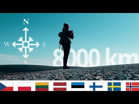 Cesta na nejsevernější místo v Evropě - Nordkapp