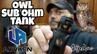 Who! Who! The OWL Mesh Top Airflow Tank By Advken