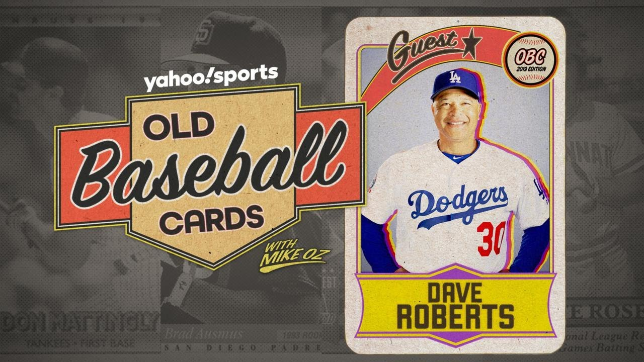 Dodgers Manager Dave Roberts Opens 25 Year Old Baseball Cards