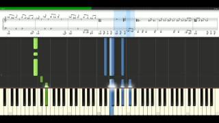 Dr Dre - The Next Episode [Piano Tutorial] Synthesia Video