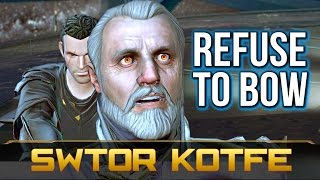 SWTOR KOTFE ► Jedi Knight Refuses to Bow and Kills Emperor Valkorion (Chapter 1)