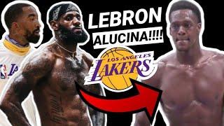 😱 LEBRON JAMES no para de ALUCINAR con LAKERS!!!💥 FICHAJES y ENTRENAMIENTOS NBA!! 👀